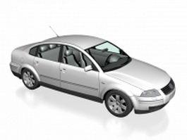 Sedan concept car 3d model