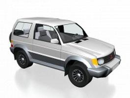 Mitsubishi RVR Compact MPV 3d model
