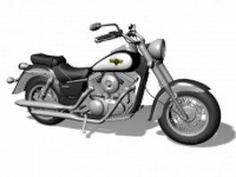 2008 Kawasaki Vulcan 1500 Classic 3d model
