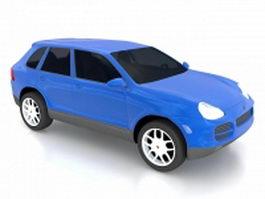 Porsche Cayenne SUV 3d model