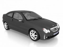 Mercedes-Benz C230 Kompressor Sport Coupe 3d model