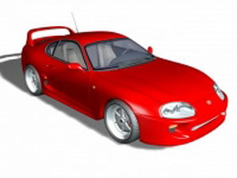 Toyota GT86 sports car 3d model