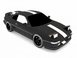 Toyota MR2 racing car 3d model