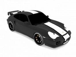 Porsche 911 GT2 racing car 3d model