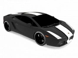 Lamborghini Gallardo race car 3d model
