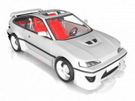Concept race car 3d model