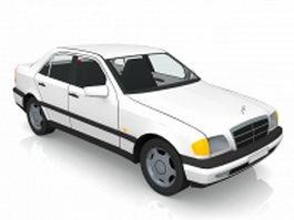 Mercedes Benz sedan 3d model