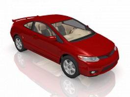Honda Civic Si coupe 3d model