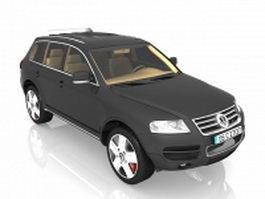 Volkswagen Touareg SUV 3d model