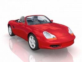 Porsche convertible 3d model