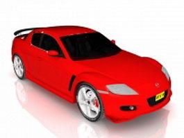 Mazda sports car 3d model