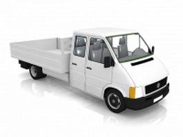 Small truck 3d model
