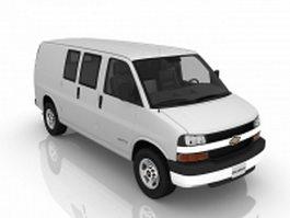 Chevrolet Van 3d model