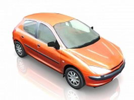 Small family car 3d model
