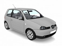 4 seater coupe 3d model