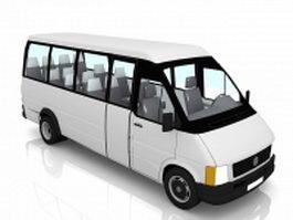 Airport Minibus 3d model