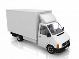 Small box truck 3d model
