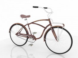 Vintage Schwinn bike 3d preview