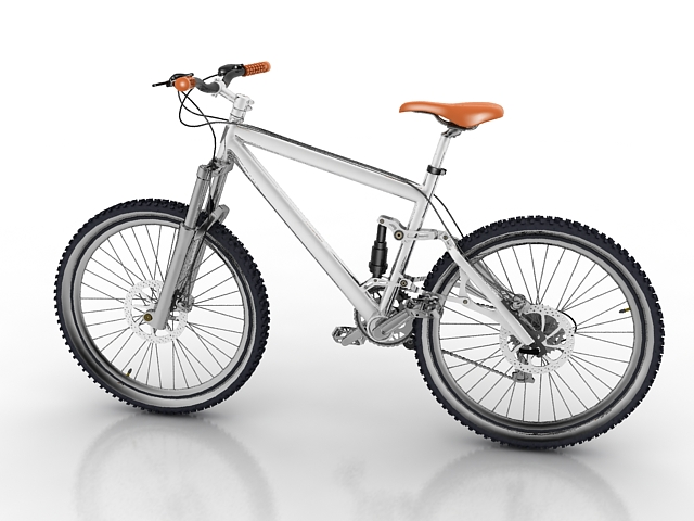 mountain bicycle 3d model 3d studio 3ds max object files free