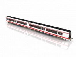 Light rail train 3d model