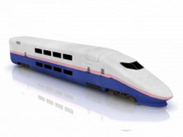 Shinkansen locomotive 3d model