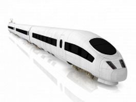 ICE Trains Intercity-Express 3d model