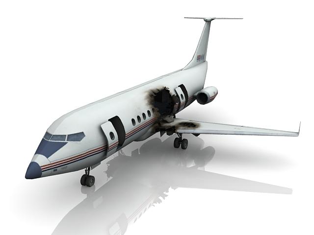 Plane Crash 3d Model 3ds Max Files Free Download