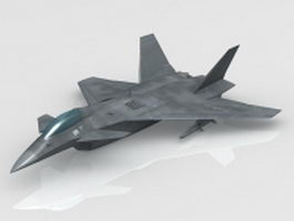 Shenyang J-15 Chinese Fighter 3d model