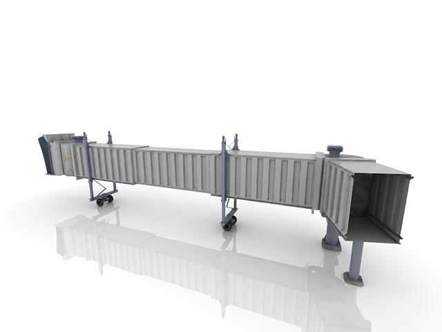Passenger Boarding Bridges 3d Model 3ds Max Files Free