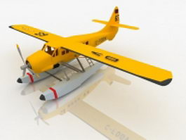 De Havilland Otter aircraft 3d model