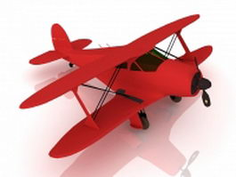 Beechcraft G17s super staggerwing 3d model