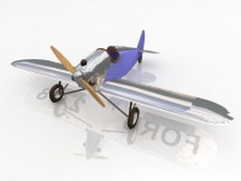 Ford flivver airplane 3d model
