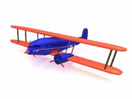 Curtiss Condor airplane 3d model