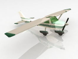 Cessna 182 aircraft 3d model