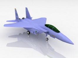 F-15 Eagle Fighter Jet 3d model