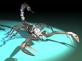 Mechanical scorpion 3d model