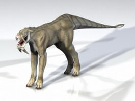 Lion beast 3d model