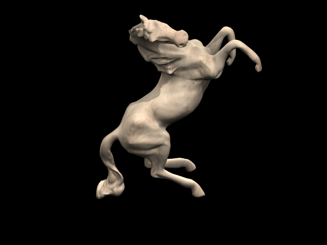 Small Horse Statue 3d Model 3ds Max Files Free Download