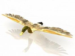 Wild duck 3d model
