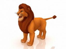 Adult Simba 3d model