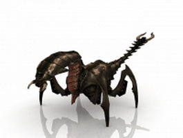Monster scorpion 3d model