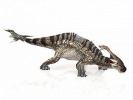 Alien dinosaur 3d model