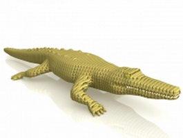 American Alligator 3d model