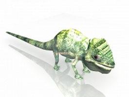 Chameleon animal 3d model