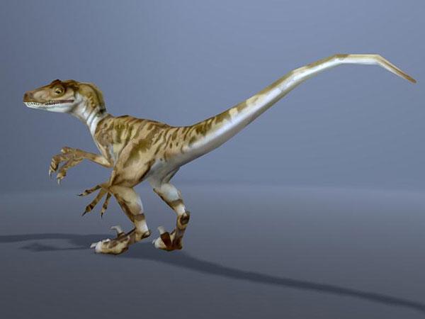 Velociraptor dinosaur 3d model - CadNav