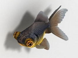 Telescope goldfish 3d model