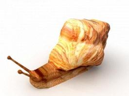 Snail animal 3d model