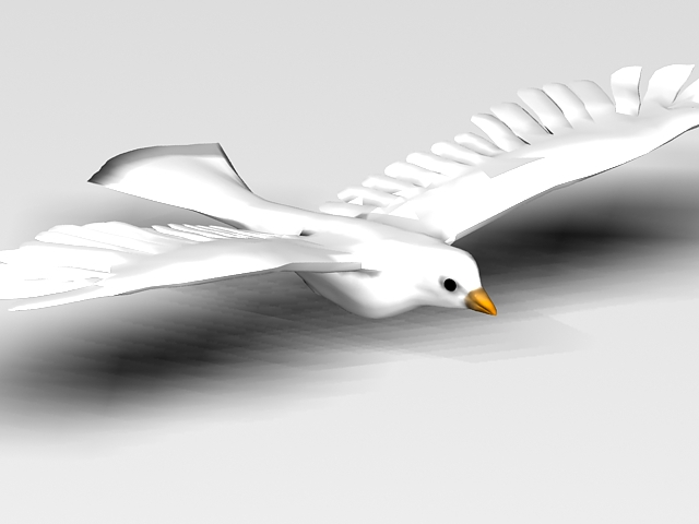 Pigeon 3d model free download - cadnav com