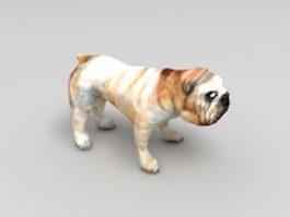 British Bulldog 3d model