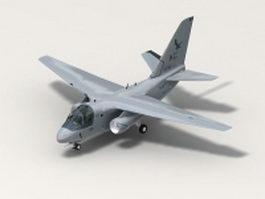 ES-3A Shadow 3d model
